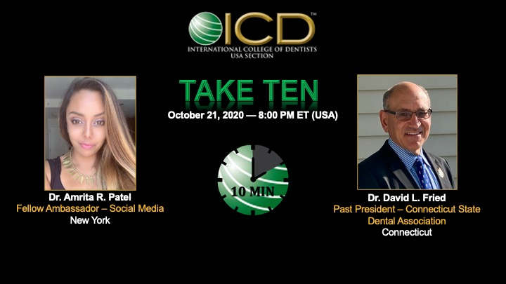 ICD TAKE TEN 10-21-2020 with Dr. David L. Fried