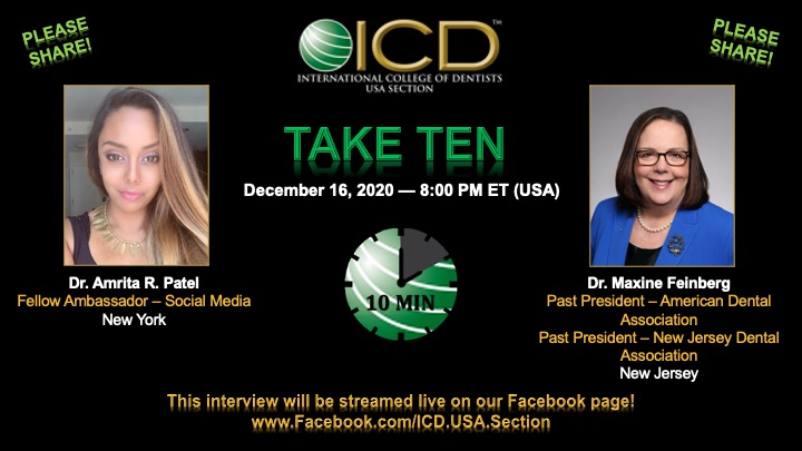 ICD TAKE TEN 12-16-2020 with Dr. Maxine Feinberg